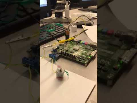EE478 Final Project Demo. By Saul and Ricardo (SUNY Buffalo Electrical Engineering)
