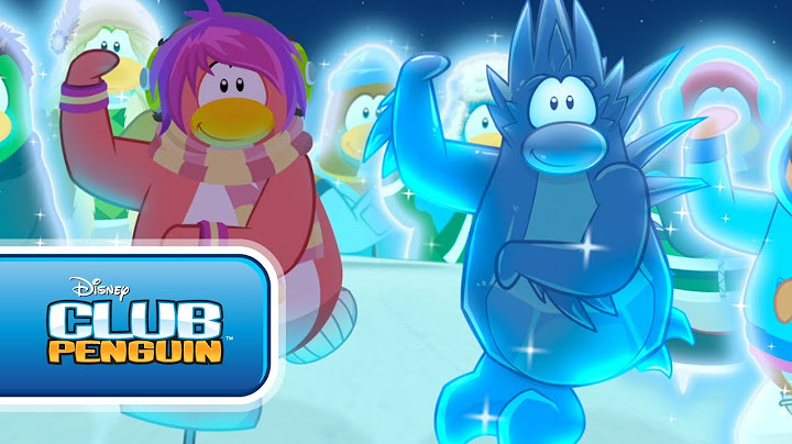 cadence  the penguin band cool in the cold  musikvideo club penguin