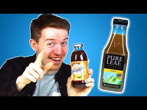 Irish People Taste Test American Iced Tea