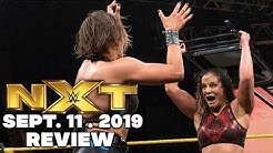 WWE NXT Sept. 11. 2019 Review & Results - THE LAST NXT OF THE NETWORK ERA