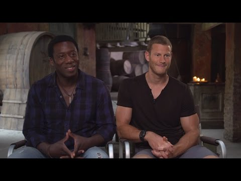 Hakeem KaeKazim and Tom Hooper Talk 'Black Sails' Season 2 from Cape Town Set