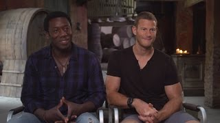 Hakeem Kae-Kazim and Tom Hooper Talk 39Black Sails39 Season 2 from Cape Town Set