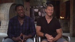 Hakeem Kae-Kazim and Tom Hooper Talk Black Sails Season 2 from Cape Town Set