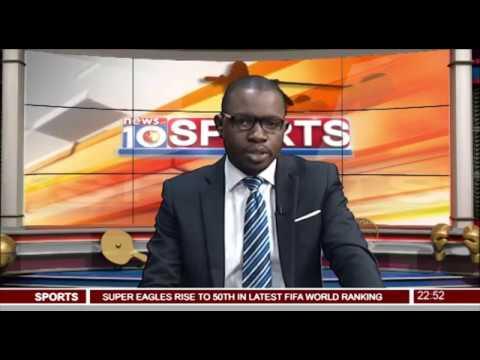 News@10: Nigeria Move Up In January FIFA Ranking 12/01/17 Pt.4