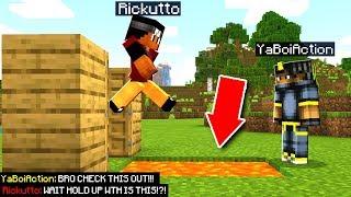 Trolling My Best Friend In Minecraft Pocket Edition