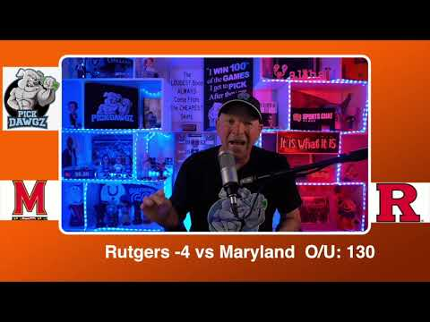 Rutgers vs Maryland 2/21/21 Free College Basketball Pick and Prediction CBB Betting Tips