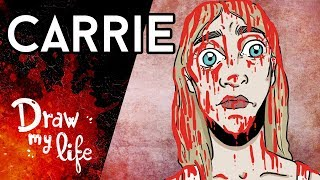 La CENSURADA historia de CARRIE: El clásico de Stephen King - Draw Club