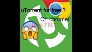My first video   How to download Torrent for Chromebook free