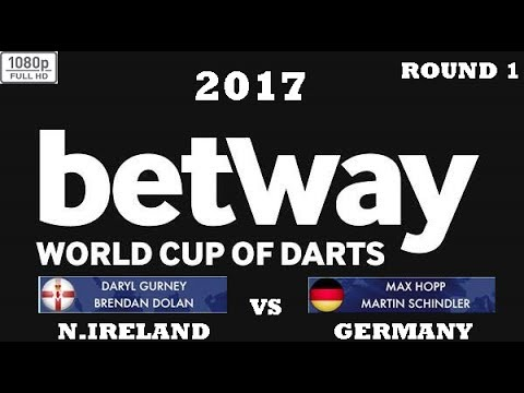 World Cup of Darts 2017 HD 1080p - Round 1 [14of16]: Northern Ireland vs Germany
