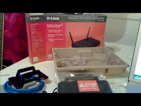 D-Link DAP-1360 Unboxing (FINNISH!!)