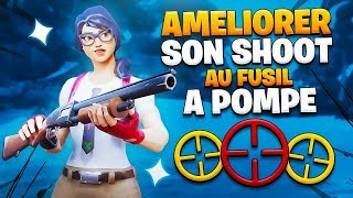 COMMENT AMÉLIORER SON AIM AU POMPE sur FORTNITE Battle Royale !