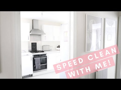 SPEED CLEAN WITH ME | Lucy Jessica Carter