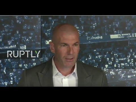 LIVE: Zidane announced as Real Madrid manager in shocking return