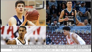 NBA Comparisons for the 2020 Draft Class: Deni Avdija, Killian Hayes, RJ Hampton & Theo Maledon