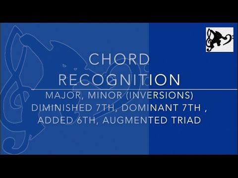Chord Listening Exercise 1  Prepare for SQA Advanced Higher Music