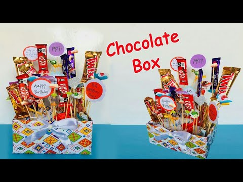 How To Make A Handmade Chocolate Box | Easy Handmade Chocolate Gift Box | DIY Chocolate Box