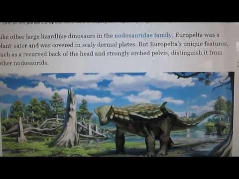 New ankylosaur discovered!