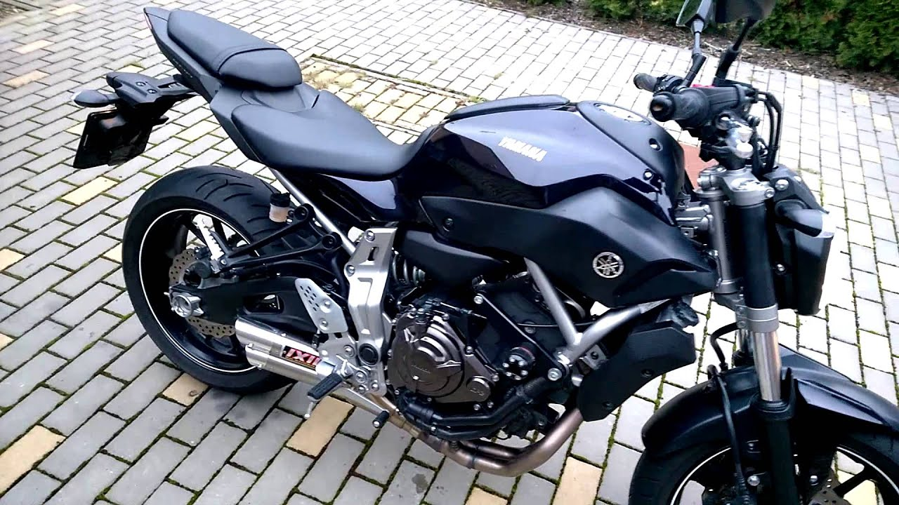 yamaha mt 07 ixil hyperlow l3x youtube