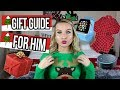 HOLIDAY GIFT GUIDE FOR HIM 2017-Gift Ideas for MEN