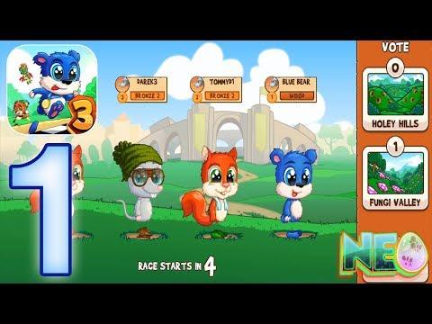 Fun Run 3: Gameplay Walkthrough Part 1 - My First Race! (iOS, Android)