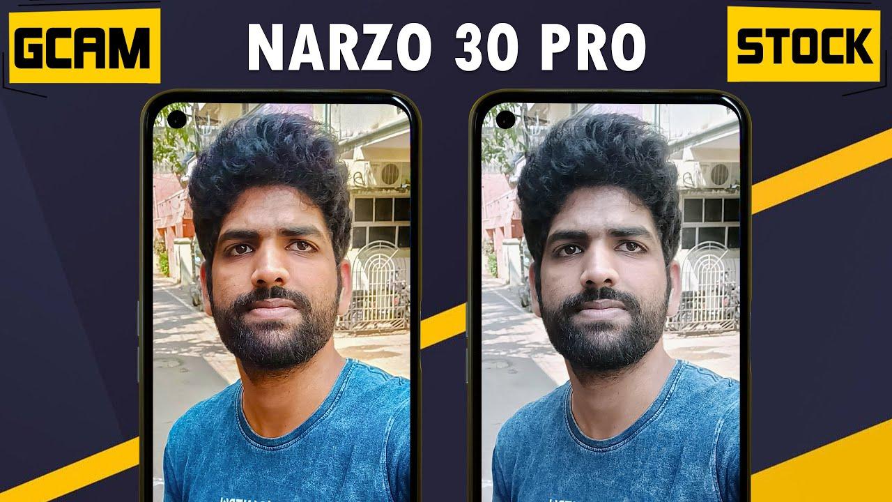 Narzo 30 Pro Google Camera vs Stock Camera + GCam Installation
