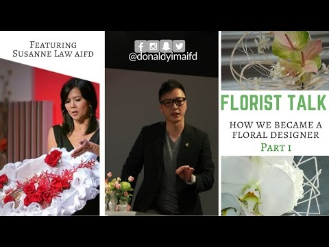 Florist Talk - How we became a floral designer (part 1)