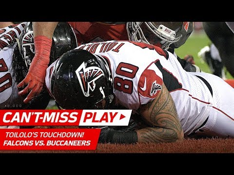Falcons TE Toilolo Recovers Fumble for TD to Cap Off Big Drive! | Can