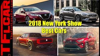 Best New Car Debuts from the 2018 New York Auto Show Counted Down