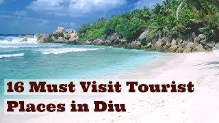 16 Must Visit Tourist Places in Diu - Diu Daman Beach