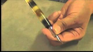 PLUFI - Cómo cargar una pluma fuente