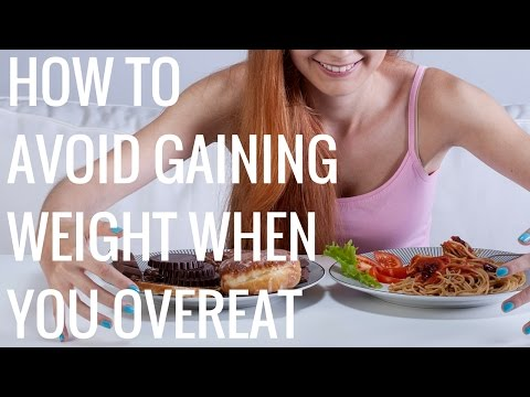 How to Avoid Gaining Weight when you Overeat - Christina Carlyle