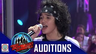 "Pinoy Boyband Superstar Judges' Auditions: Henz Villaraiz – ""Heartache On The Big Screen"""