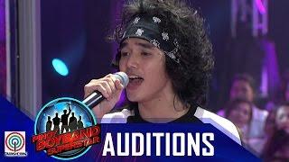 "Repeat youtube video Pinoy Boyband Superstar Judges' Auditions: Henz Villaraiz – ""Heartache On The Big Screen"""