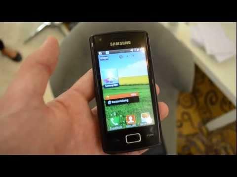 Samsung Wave 578 Hands On