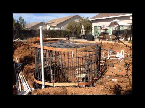 building an amazing waterfall pool with cave doovi