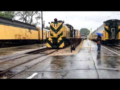 Railfanning at the Illinois Railway Museum for CNW day!!!