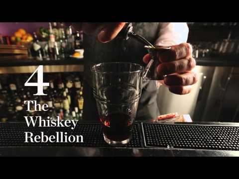 How to Make 6 Manhattans in 60 Seconds