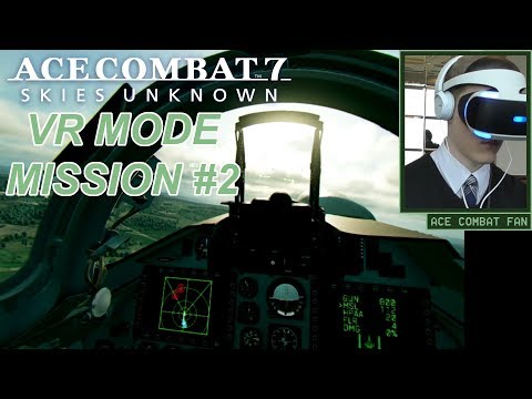 Ace Combat 7 | VR Mission #2 | Operation Gator Panic | Su-30M2 | Gameplay | 1080p 60fps