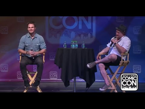 Stephen Amell Panel at Salt Lake Comic Con 2014 (Official)