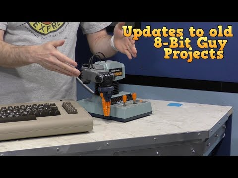 Updates on Previous 8-Bit Guy Projects