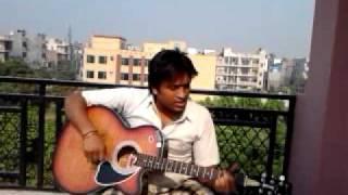 aankhon se Dil harey atif aslam jal band guitar cover