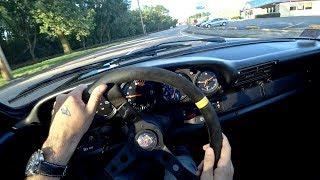 Porsche 911 Outlaw 3.2 Carrera M&K Muffler - POV