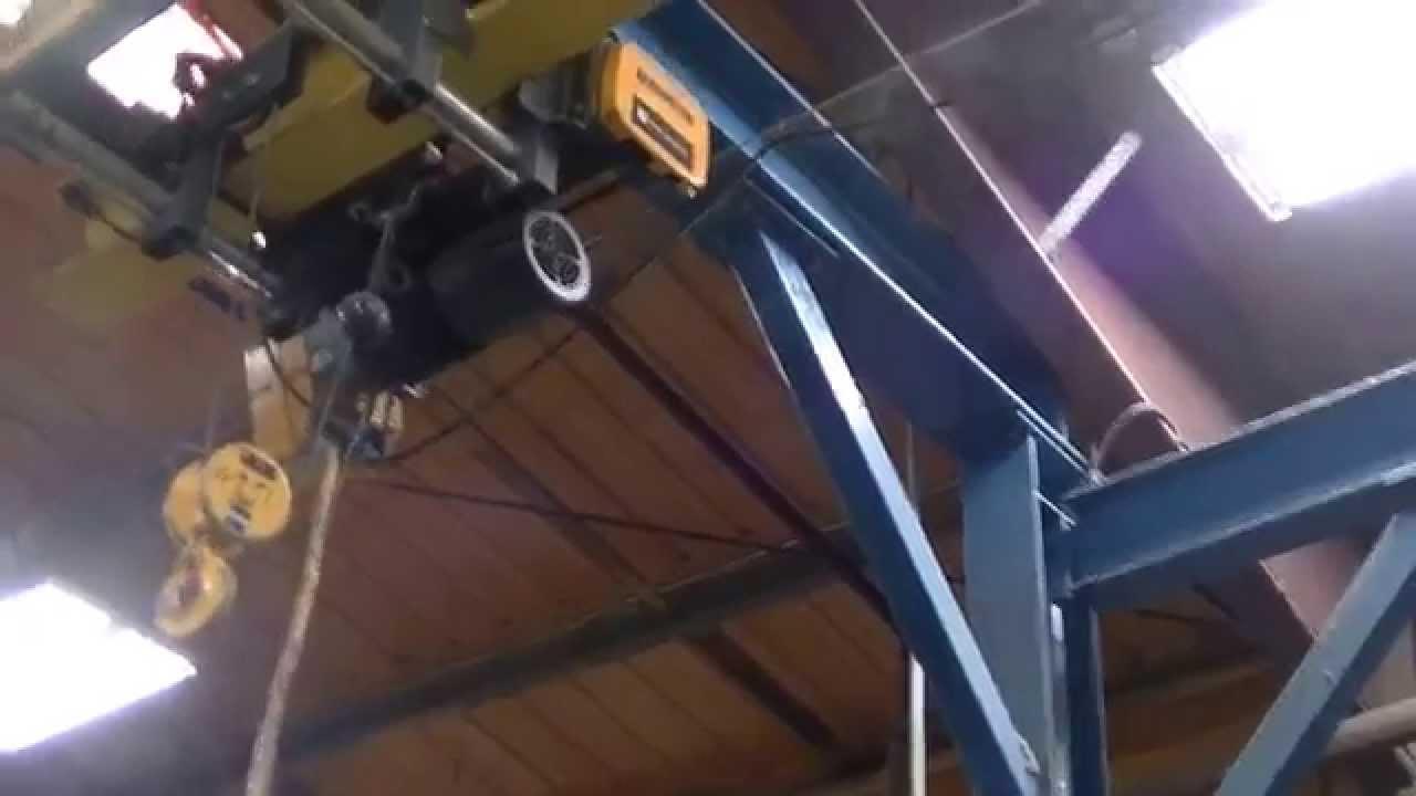 medium resolution of  1 harrington wire rope hoist