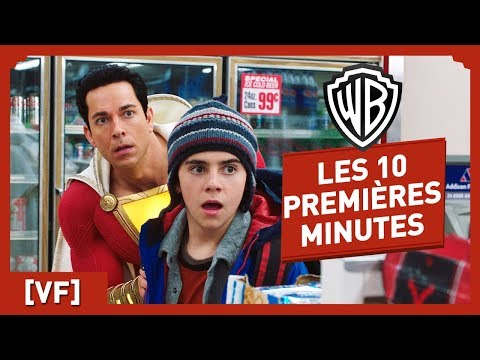 Shazam ! - Regardez les 10 premi�res minutes du film !