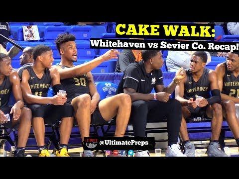 STATE: Whitehaven EATS WHEATIES Vs Sevier Co  In Quarterfinal Matchup | Game Recap!!