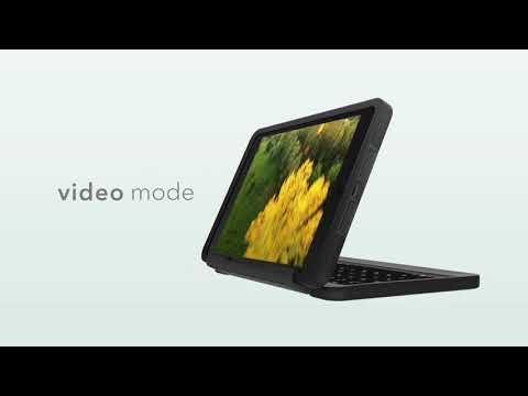 Ốp lưng kèm bàn phím ZAGG Rugged Book cho iPad/ iPad Pro 9.7, iPad Air 2, iPad Air