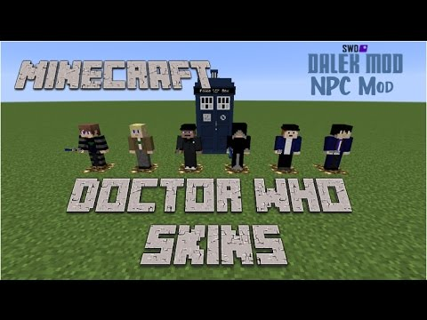 Doctor Who Skins | Minecraft
