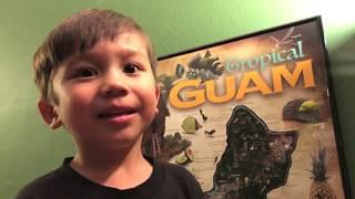 gerard aflague's tropical guam poster (map) 2017 Video