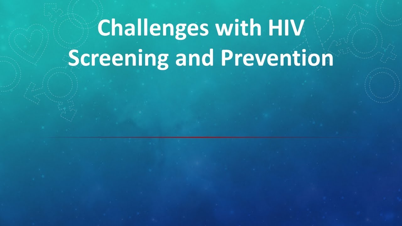 ELEVATE  - Toolbox Patient Videos -HIV Screening Prevention
