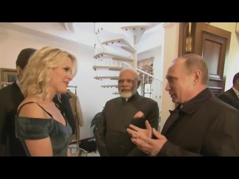 Putin Informs Hacking Expert Megyn Kelly That She Has No Idea What She's Talking About